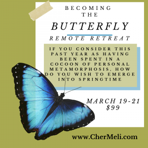 "Becoming the Butterfly ""Remote Retreat"""